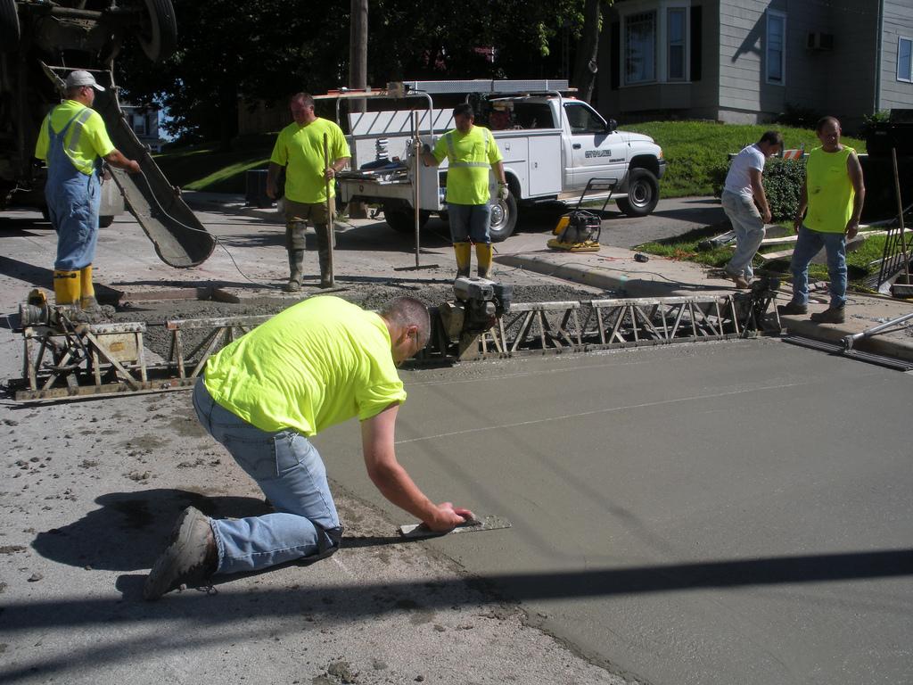 Jak dlouho tvrdne beton
