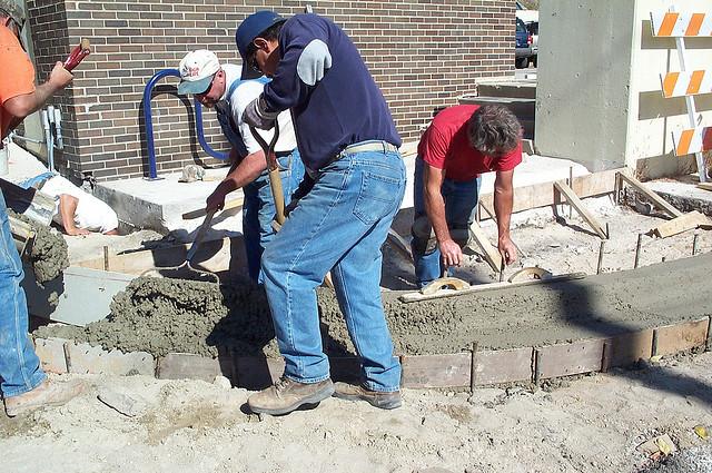 Jak se betonuje zaklad