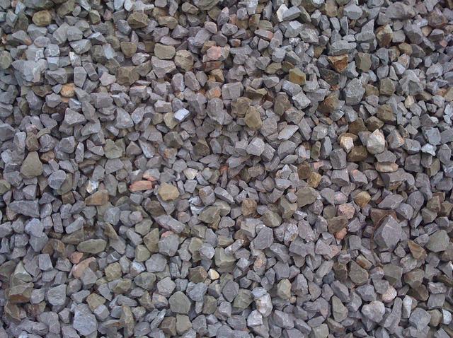 Drcené kamenivo pod dlažbu