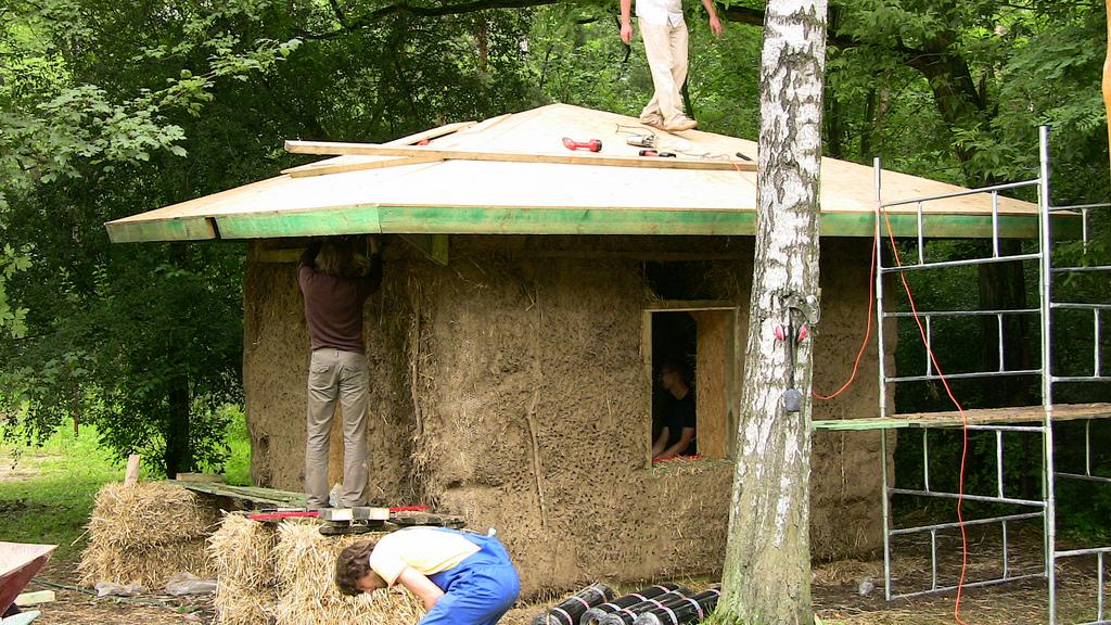 Malý dům ze slámy