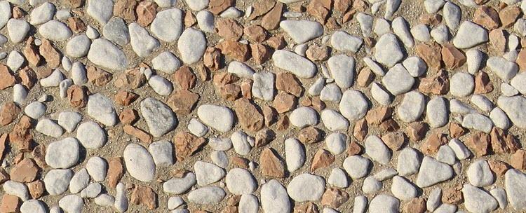 Kamínková podlaha