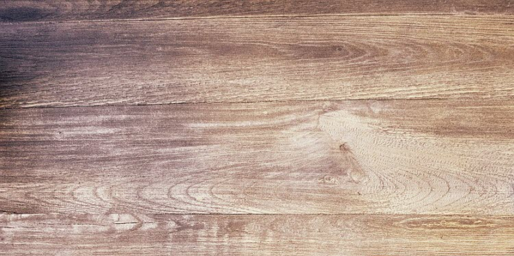 Detail podlahy ze dřeva