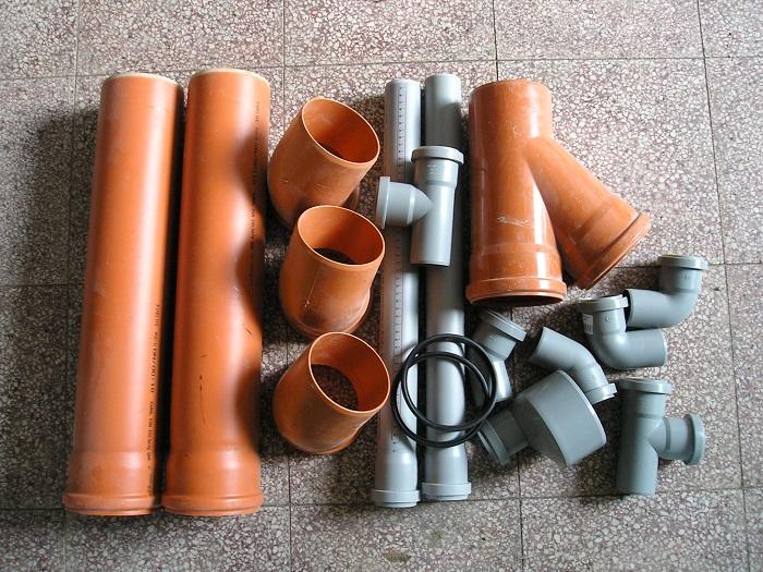 KG a HT kanalizační potrubí