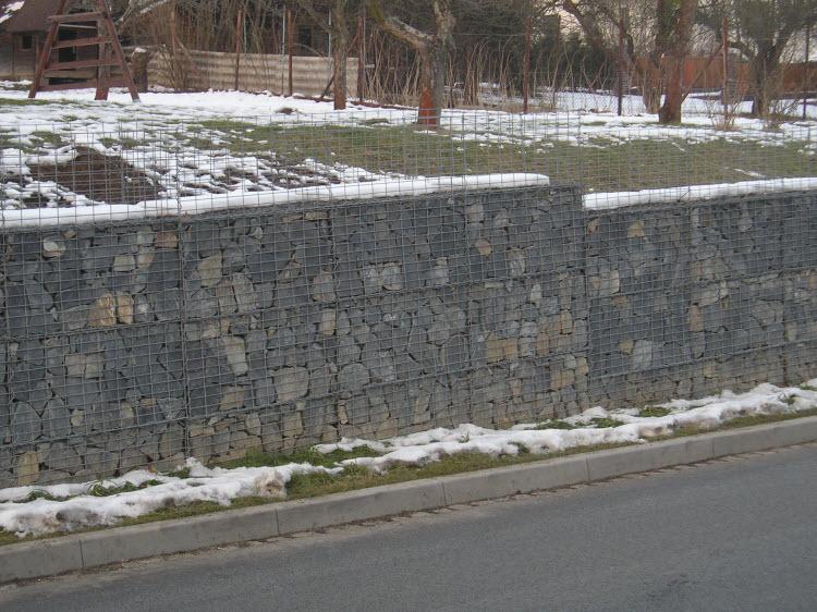 Gabiónová stěna
