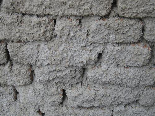 Špricování stěny