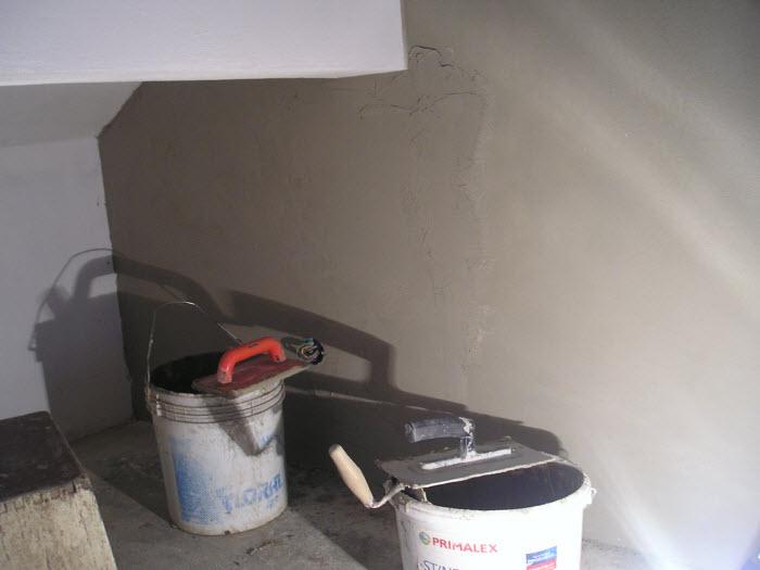 Štukovaná stěna