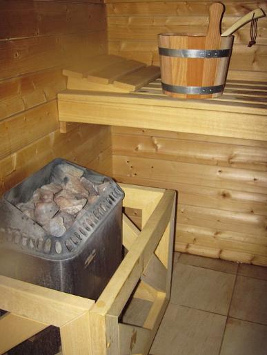 Kameny v sauně