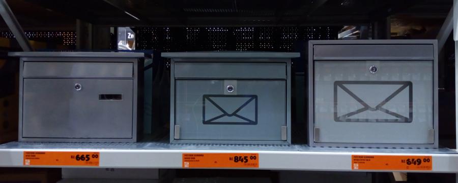 Jednoduché poštovní schránky a jejich ceny