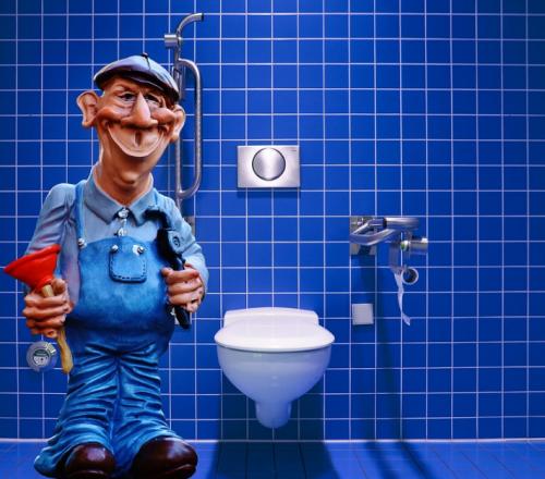 Opravář záchodu