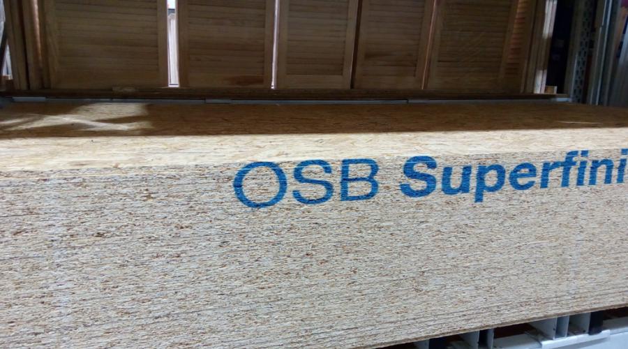 OSB desky