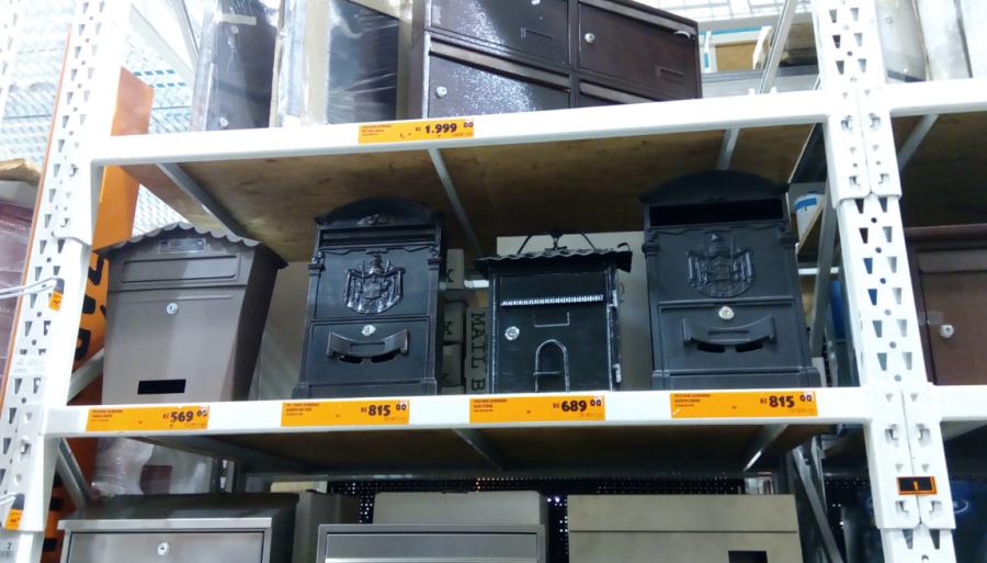 Atypické poštovní schránky a jejich ceny