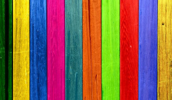 Nabarvené dřevo