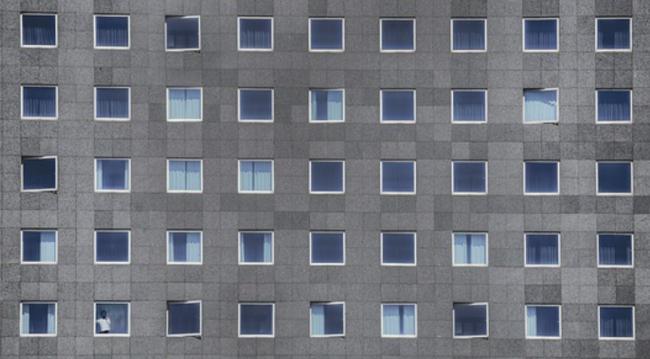 Okna ve fasádě